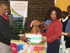 MSU donates goods to Gweru provincial hospital