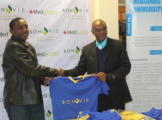 BONVIE DONATES SOCCER KIT TO MSU